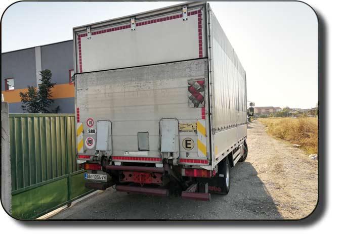 transport robe kamionom nosivosti 5.2t