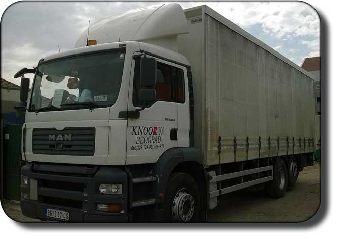 kamionski prevoz Beograd