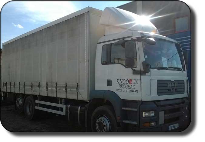 prevoz robe kamionom nosivosti 13.2t