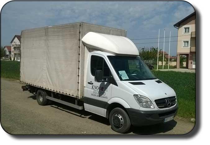 kamionski prevoz - prevoz robe kamionom nosivosti 2t