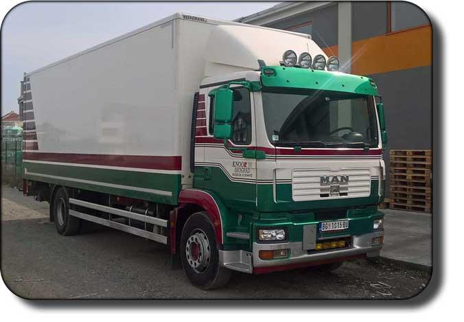 kamionski prevoz, prevoz kamionom nosivosti 10t