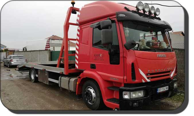 Kamionski prevoz - Kamion za prevoz vozila