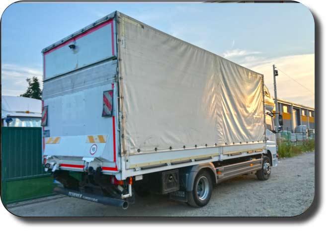 Kamionski prevoz,  prevoz kamionom nosivosti 5.5t