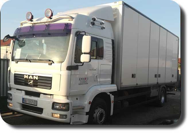 kamionski prevoz - kamion nosivosti 9.6t