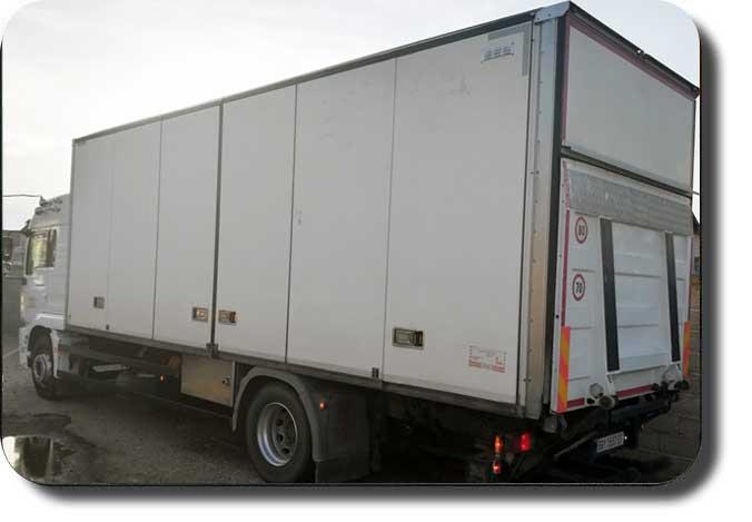 prevoz robe kamionom - kamion nosivosti 9.6t