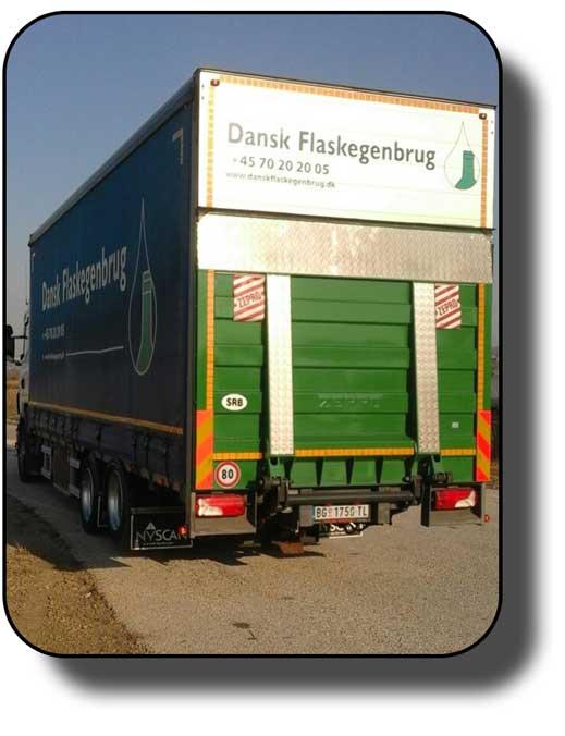 Kamion sa rampom nosivosti 14t